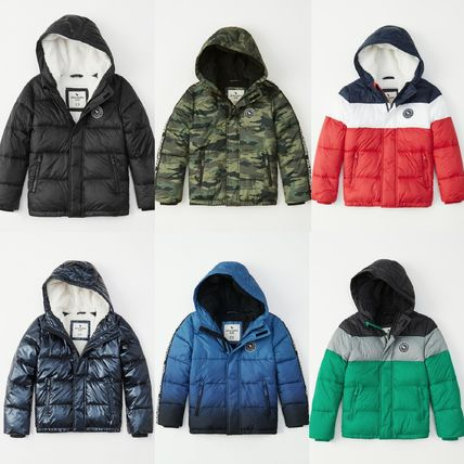Abercrombie & Fitch キッズアウター 大人もOK!アバクロ★the a&f essential ダウンジャケット