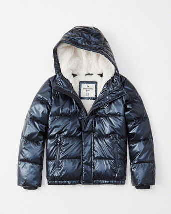 Abercrombie & Fitch キッズアウター 大人もOK!アバクロ★the a&f essential ダウンジャケット(2)
