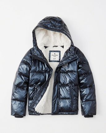 Abercrombie & Fitch キッズアウター 大人もOK!アバクロ★the a&f essential ダウンジャケット(3)