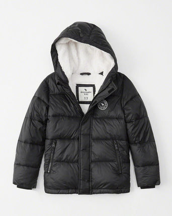 Abercrombie & Fitch キッズアウター 大人もOK!アバクロ★the a&f essential ダウンジャケット(6)