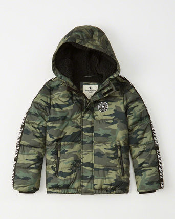 Abercrombie & Fitch キッズアウター 大人もOK!アバクロ★the a&f essential ダウンジャケット(12)