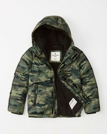 Abercrombie & Fitch キッズアウター 大人もOK!アバクロ★the a&f essential ダウンジャケット(13)