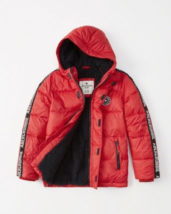 Abercrombie & Fitch キッズアウター 大人もOK!アバクロ★the a&f essential ダウンジャケット(15)