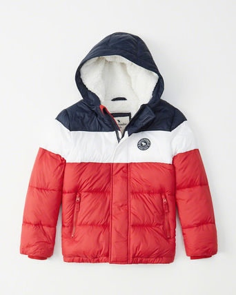 Abercrombie & Fitch キッズアウター 大人もOK!アバクロ★the a&f essential ダウンジャケット(16)
