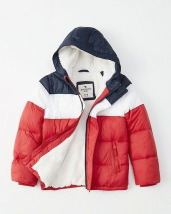 Abercrombie & Fitch キッズアウター 大人もOK!アバクロ★the a&f essential ダウンジャケット(17)