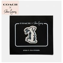 Selena x Coach  Bunny sticker