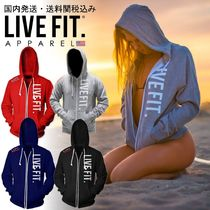 Live Fit(リブフィット) パーカー・フーディ 国内発送・送料関税込み☆LIVE FIT☆Live Fit Zip Up
