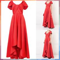 Jay Godfrey(ジェイゴッドフリー ) ワンピース 【送料・関税等込み】gathered front evening gown