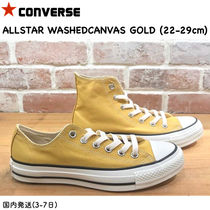 国内発送★ Converse ALL STAR WASHOUT SLIP★ ゴールド 〜29cm