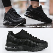 NIKE★AIR MAX 95 GS★TRIPLE BLACK★22.5~25cm