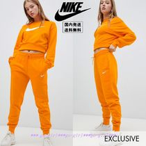 【Nike】Exclusive To ASOS クロップドスウェット&パンツセット