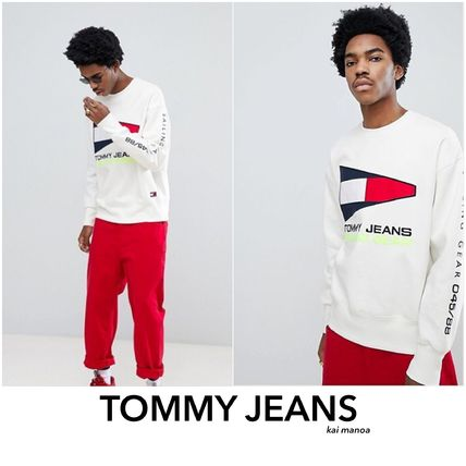 *TOMMY JEANS*ロゴスウェット トレーナー
