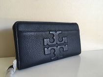TORY BURCH  BOMBE T ZIP CONTINENTAL WALLET  トリーネビー