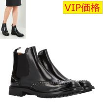 VIP価格!Church's Aura Met studded leather chelsea boots ♪