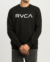 RVCA(ルカ) スウェット・トレーナー RVCA BIG RVCA CREW FLEECE SWEATSHIRT
