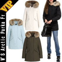 ◆VIP◆ WOOLRICH W'S Arctic Parka Fr  (取り外し可能 フード)