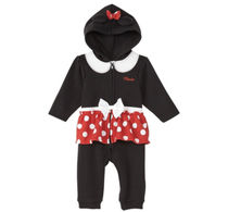 Disney  Minnie Mouse Coverall◆ミニーカバーオール