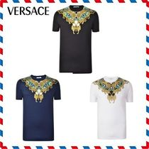 18SS新作◆VERSACE◆プリントFOIL PRINT T SHIRT