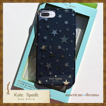 SALE! 即発送【kate spade】スター柄  iPhone7/6&6S/8ケース