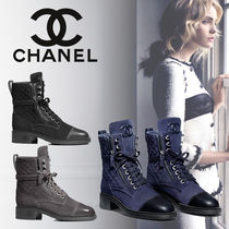 18AW【直営店】シャネル Chaussures a lacets ショートブーツ