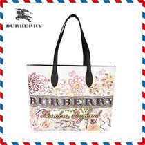18AW新作◆Burberry◆DOODLE TOTE BAG
