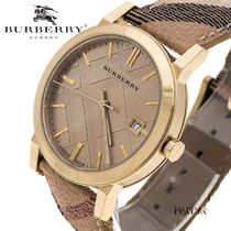 【BURBERRY】THE CITY CHAMPAGNE BU9026 38mm