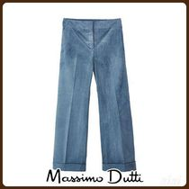 MassimoDutti♪LIMITED EDITION BOOT-CUT FIT CORDUROY TROUSERS