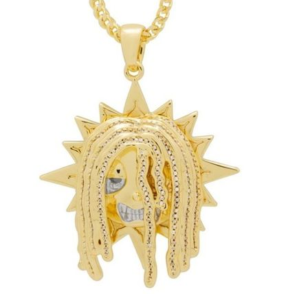 King Ice ネックレス・チョーカー 送料無料【Chief Keef x King Ice】The Glo Chief  ネックレス☆
