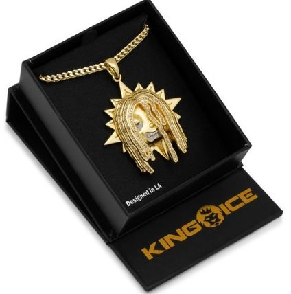 King Ice ネックレス・チョーカー 送料無料【Chief Keef x King Ice】The Glo Chief  ネックレス☆(2)