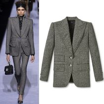 18-19AW TF071 LOOK10 TWEED DOUBLE BREASTED JACKET