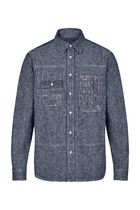 LV◆日本未入荷 PATCHWORK DENIM SHIRT