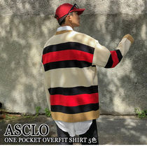 ASCLO★韓国の人気★OVERFIT BABE COLOR BLOCK KNIT 3色