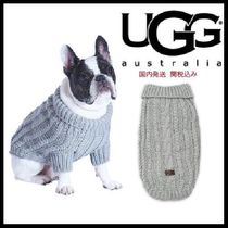 安心国内発送★UGG Pet Cable Knit Sweater in Grey