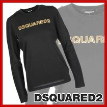 D SQUARED2(ディースクエアード) Tシャツ・カットソー 【国内発送】DSQUARED2☆Women'sロゴTシャツ