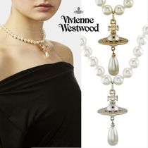 ◆VivienneWestwood◆791843B ONE ROW PEARL DROP チョーカー