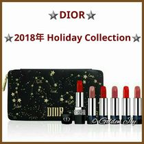 ★DIOR★2018ホリデー限定Rouge Dior Couture Jewelリップセット