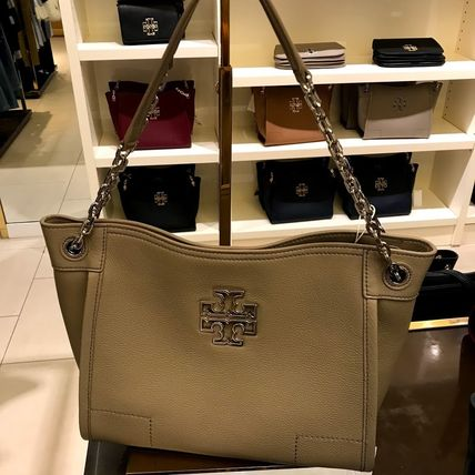 Tory Burch Britten Small Slouchy Tote★フレンチグレー