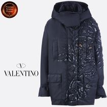 ∮VALENTINO∮ Tiger Re-Editionテクニカルfabric jacket 関送込