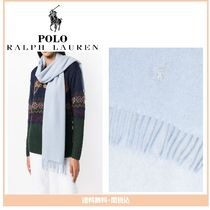 【Polo Ralph Lauren】 fringed scarf
