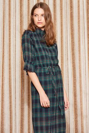 The Fifth Label ワンピース 【最短当日発送】The Fifth Label チェック MIDI DRESS(3)