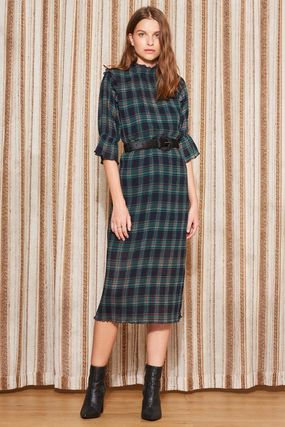 The Fifth Label ワンピース 【最短当日発送】The Fifth Label チェック MIDI DRESS(4)