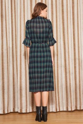 The Fifth Label ワンピース 【最短当日発送】The Fifth Label チェック MIDI DRESS(6)