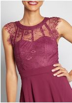 sophisticated spin a-line dress