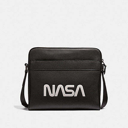 ☆COACH☆CHARLES CAMERA BAG WITH SPACE MOTIF