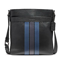 ☆COACH☆CHARLES CROSSBODY WITH VARSITY STRIPE☆クロスボディ