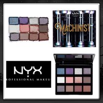 "NYX エヌワイエックス Machinist Shadow Palette - ""STEAM"""