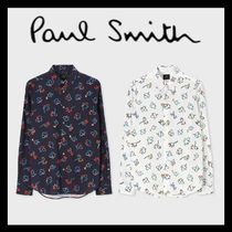 "Paul Smith / ""Impasto Floral"" プリントシャツ 2色展開"