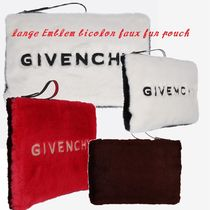 【Givenchy】バイカラーフェークファーポーチ☆大人気