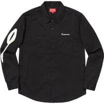 関税込み 国内発送 18FW Supreme Rose L/S Work Shirt