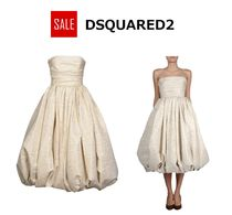 ★SALE★DSQUARED2 ひざ丈ワンピース